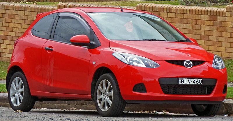 Mazda 2 II поколения
