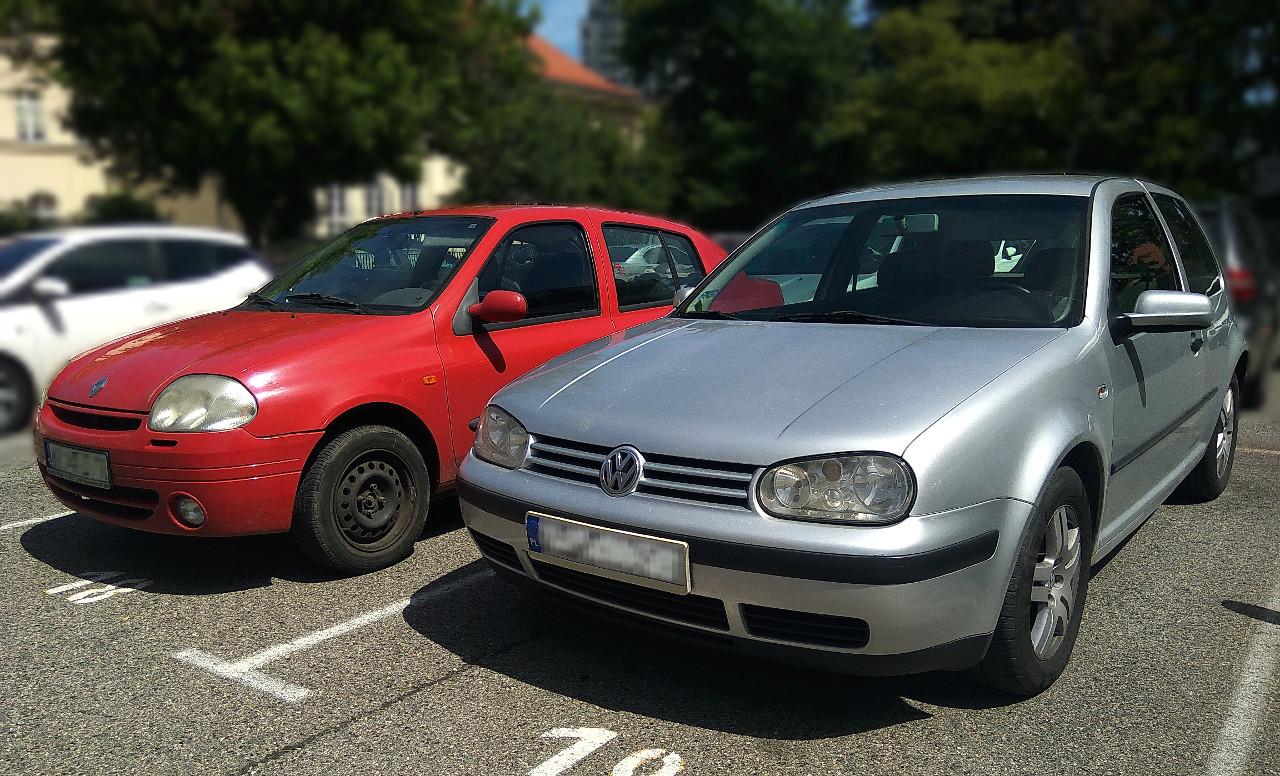samochody do 5000 zł do kupienia w 2019 roku - VW Golf i Renault Thalia