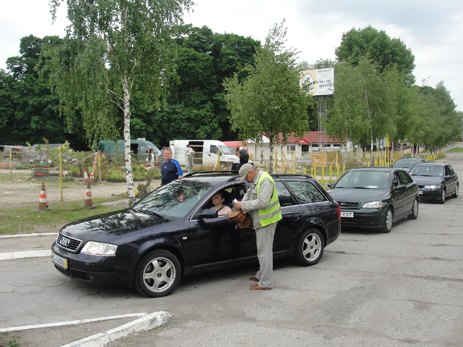 Wjazd na auto giełdę w Ełku