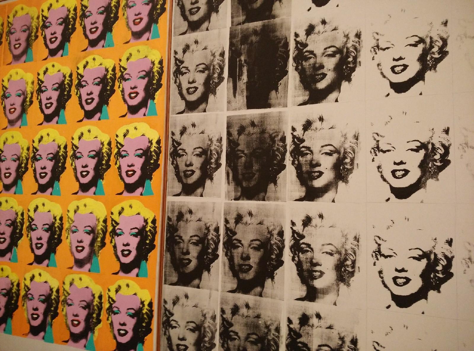 Andy Warhol. Marilyn Monroe.