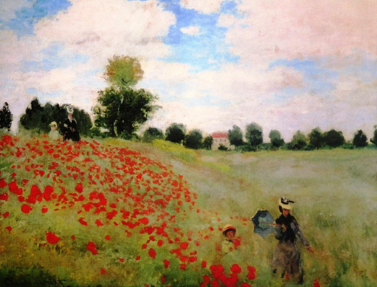 Pole Maków 1873 – Claude Monet